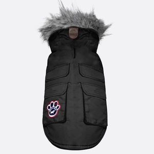 Canada Pooch Everest Jacket in black (size 10)